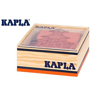KAPLA Steine 40er Box QUADRATE Orange
